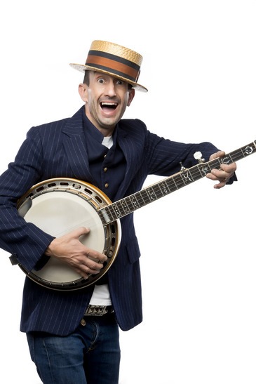 Crazy banjo man