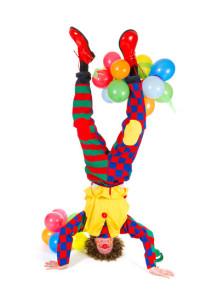 Lustige Clowns finden und buchen - www.showdreams.de