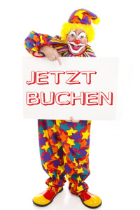 Clown engagieren - Agentur für Clowns